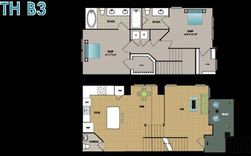 TH B3 Floor Plan 17