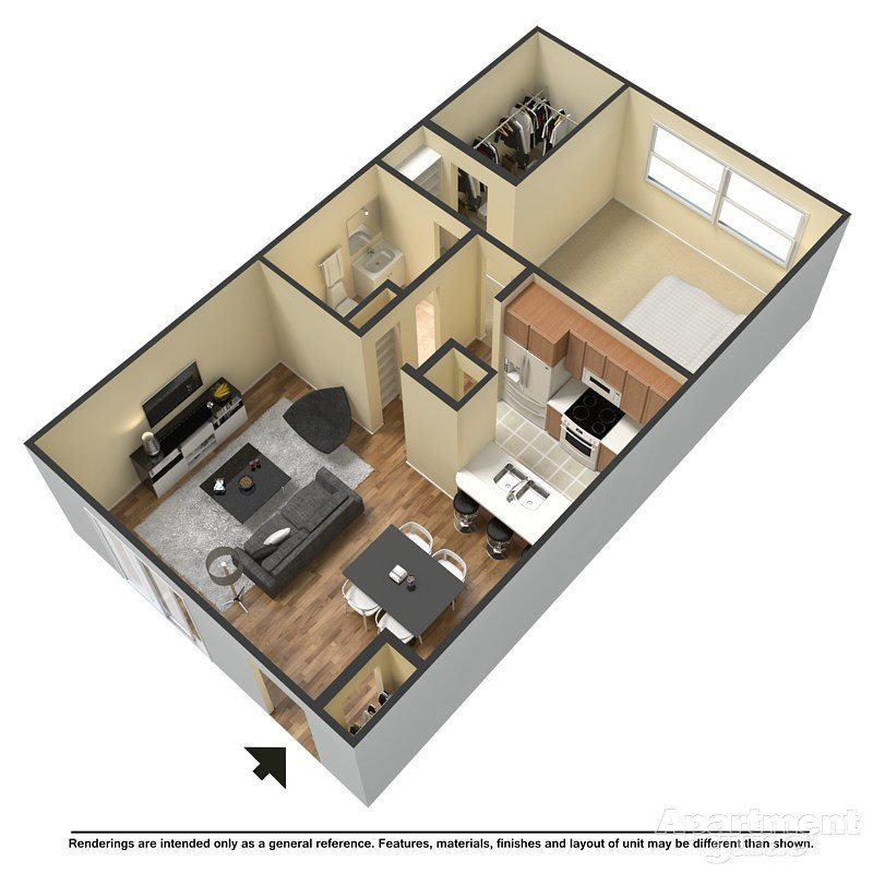 The Captain Chair Floor Plan 1