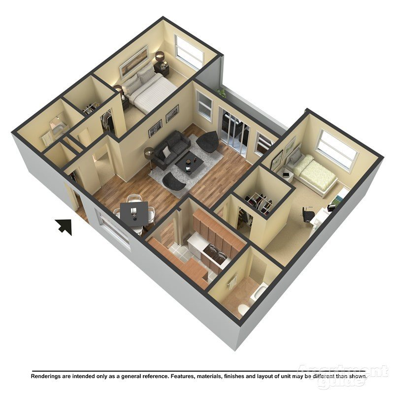 The Dolphin Duo Floor Plan 3
