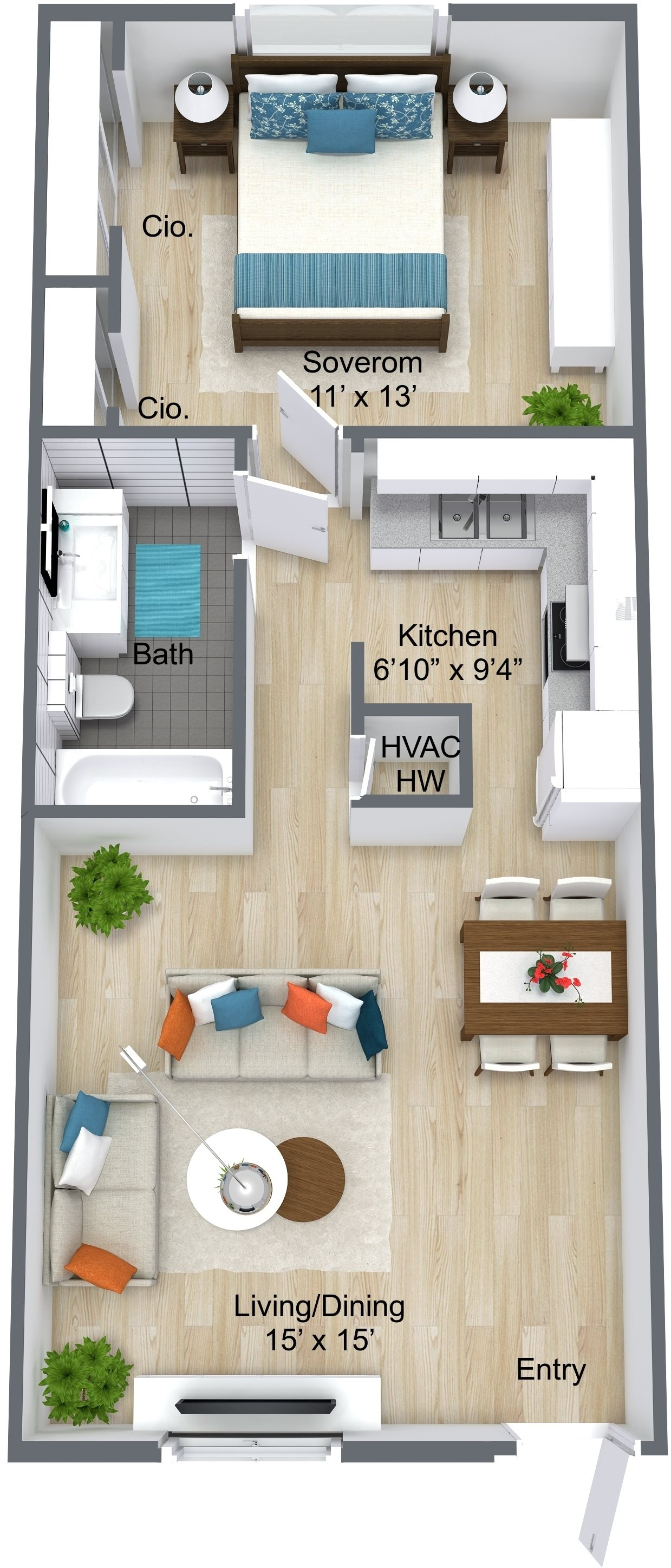 The Halifax Floor Plan 1