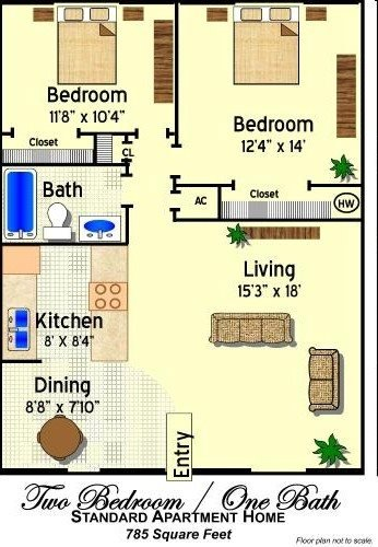 The Peabody Floor Plan 2