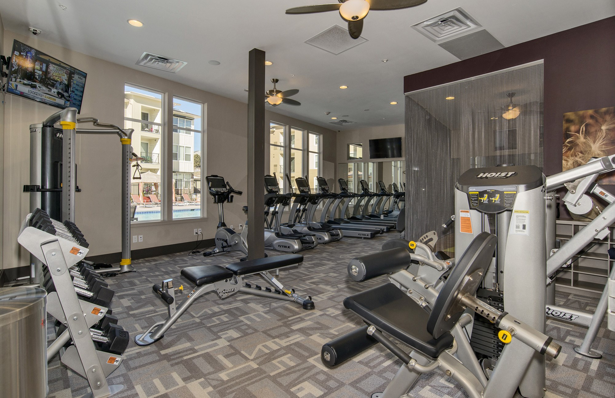 Fitness Center at Westlink at Oak Station Apartments in Lakewood, CO