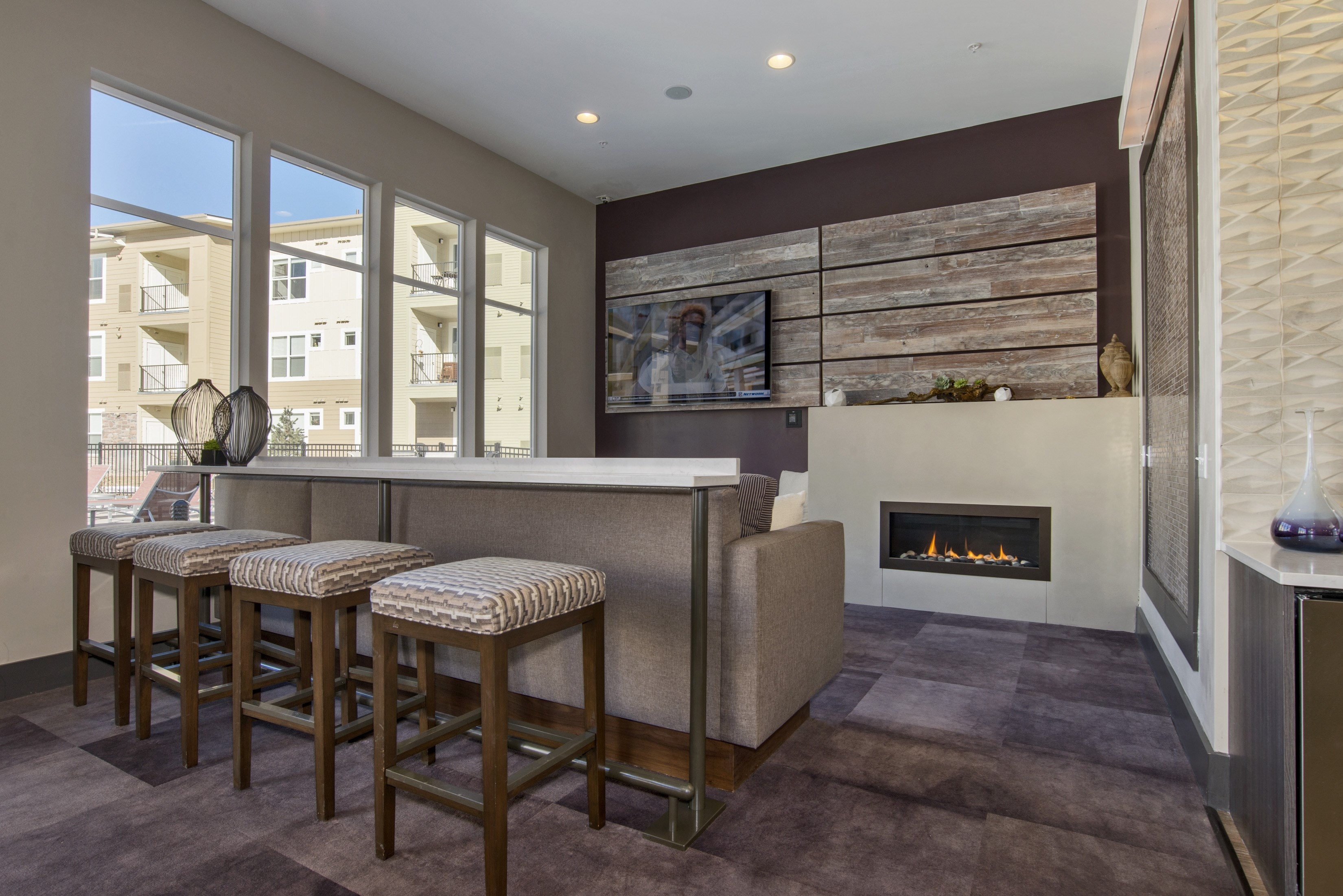 Resident Lounge at Westlink at Oak Station Apartments in Lakewood, CO