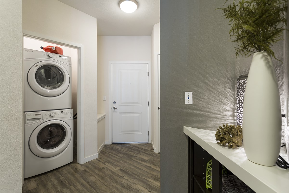 Laundry at Westlink at Oak Station Apartments in Lakewood, CO
