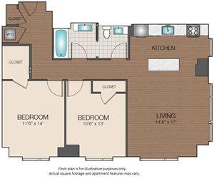 2bedroom luxury The Victor Apartments Boston, MA
