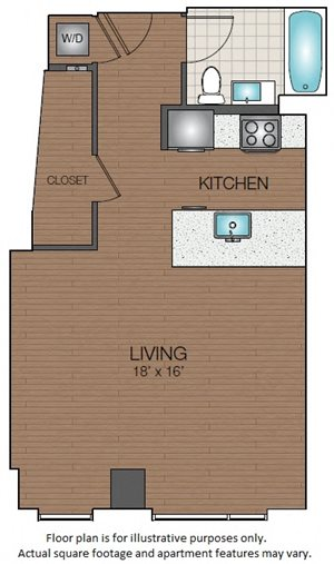 Studio apartment in west end boston The Victor