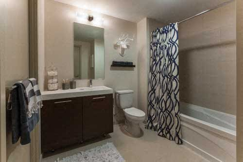 Specious Bathrooms The Victor by Windsor West End Apartments for Rent