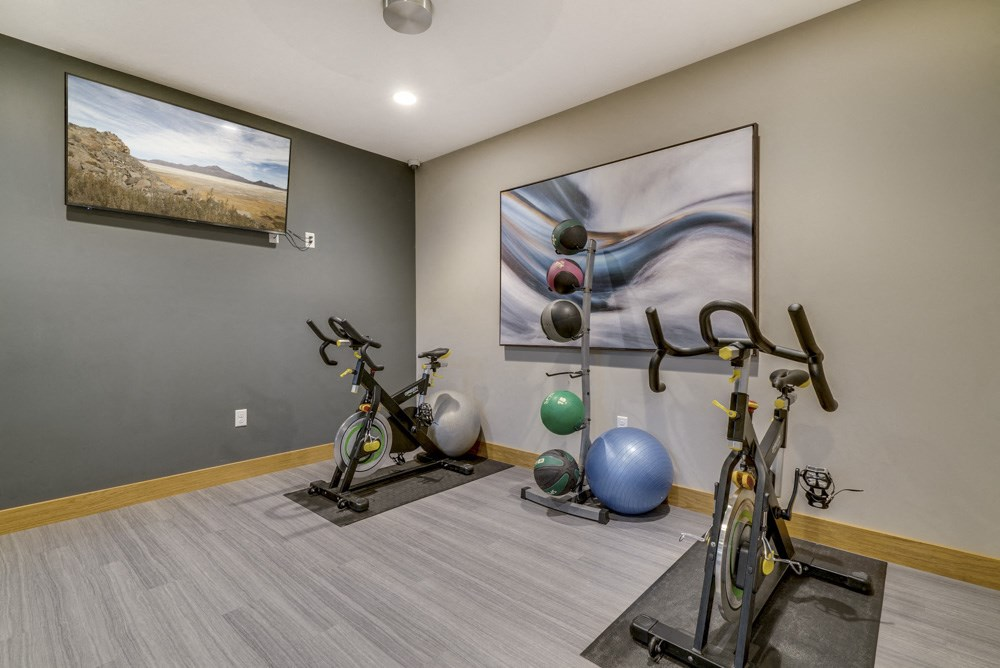 Fitness center at Fountain Glen Apartments!