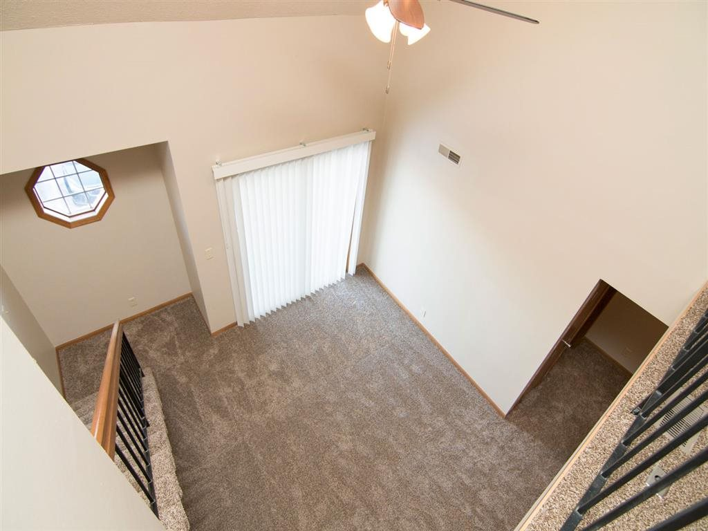 living space at Fountain Glen Apartments in Lincoln Nebraska