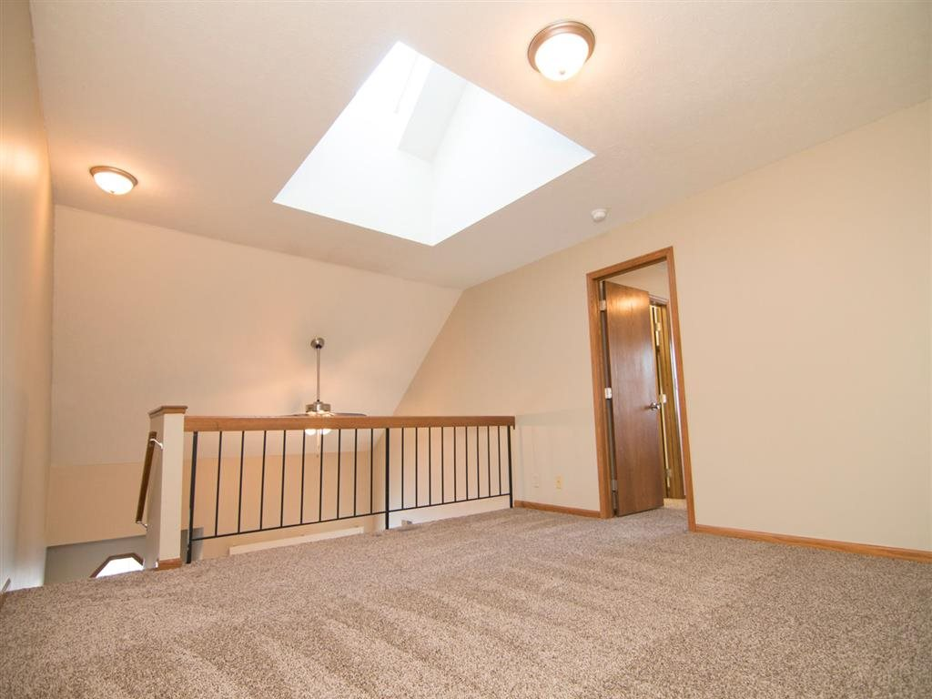 loft space at Fountain Glen Apartments in Lincoln Nebraska