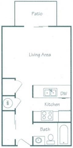 Cass Floorplan at Fountain Glen