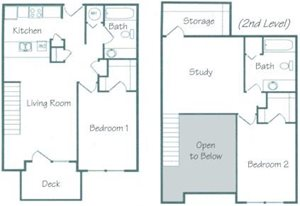 Dakota Floorplan at Fountain Glen