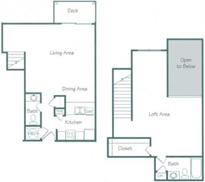 Dodge Floorplan at Fountain Glen