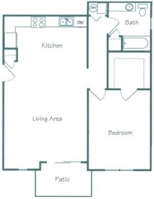Douglas Floorplan at Fountain Glen