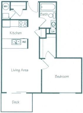Frontier Floorplan at Fountain Glen