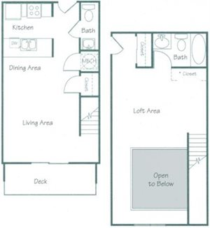 Lancaster Floorplan at Fountain Glen