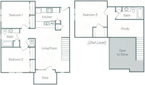 Merrick Floorplan at Fountain Glen