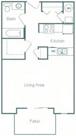 Saline Floorplan at Fountain Glen