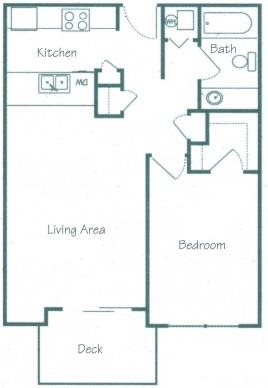 Sanders Floorplan at Fountain Glen