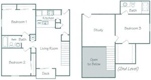Seward Floorplan at Fountain Glen