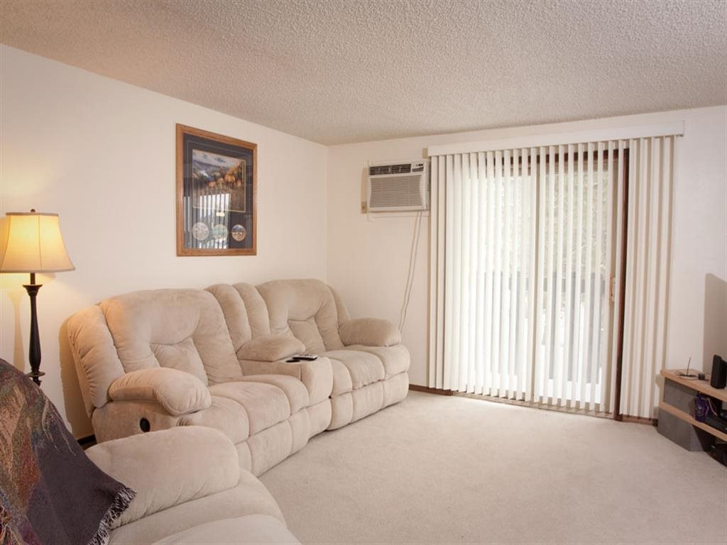 Interiors-Great Plains Apartments Living Room in Alliance NE