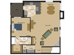 Brooklyn Floorplan at North Pointe Villas