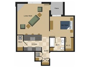 Embry Floorplan at North Pointe Villas