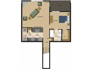 Felix Floorplan at North Pointe Villas