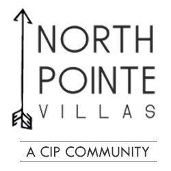 at North Pointe Villas Logo, Lincoln
