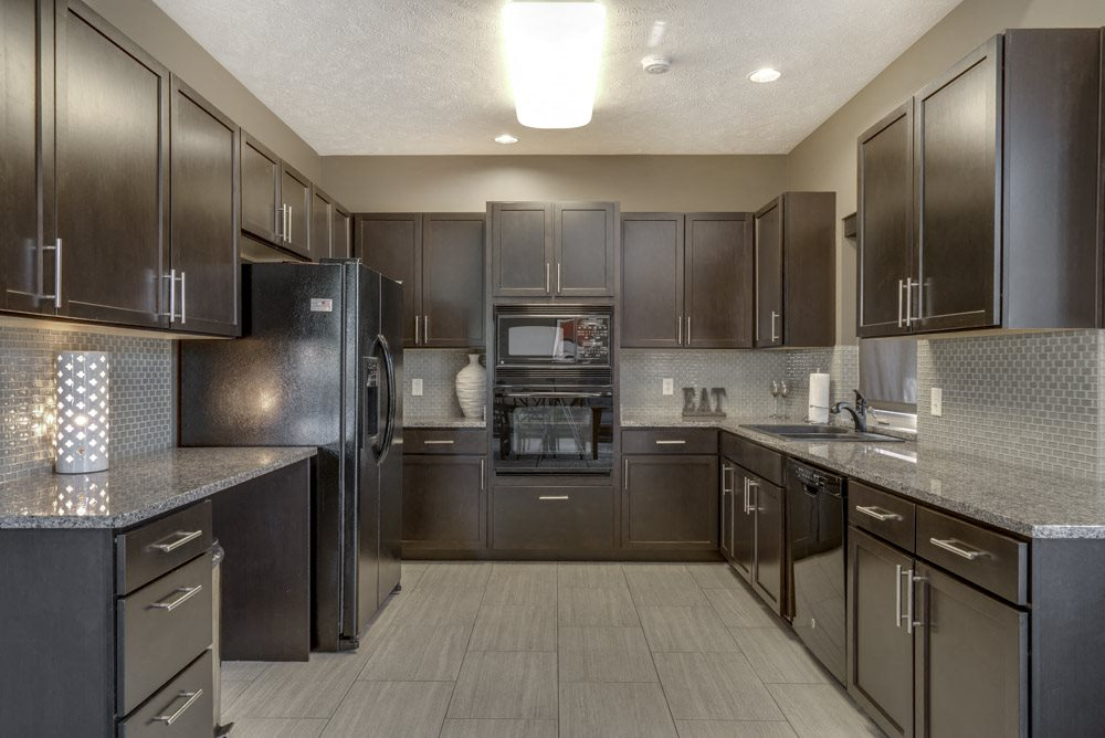 Clubhouse kitchen with up to date appliances at North Pointe Villas