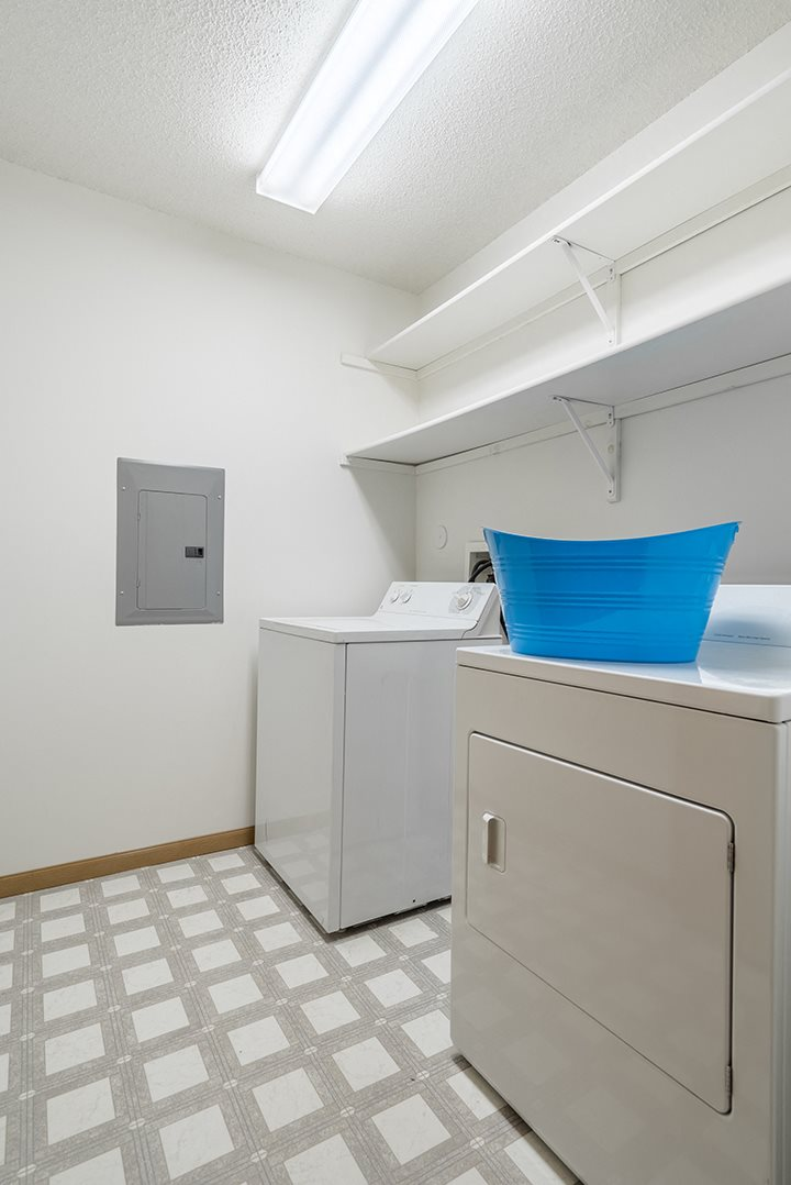 Full-sized washer and dryer included in every unit at Northbrook Apartments