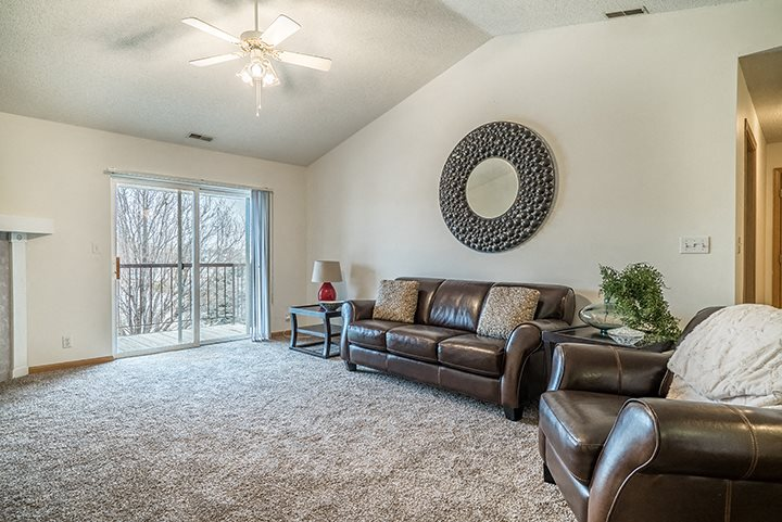 large roomy floor plan at The Northbrook Apartment Homes, Lincoln, NE