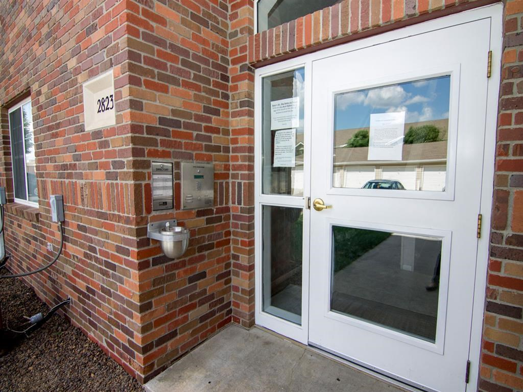Resident Enterance at The Northbrook Apartment Homes, Lincoln NE