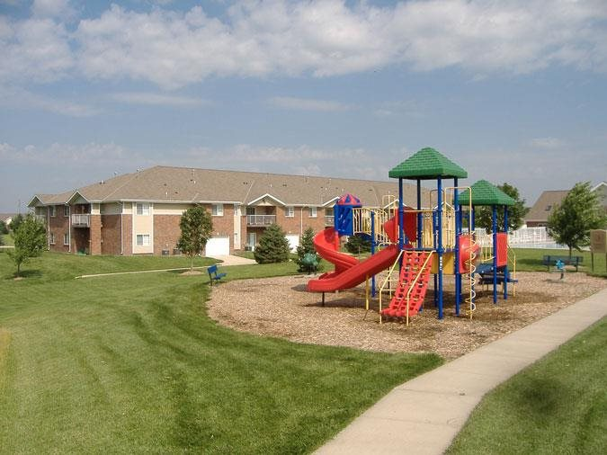 Playground at Northbrook Apartments in Lincoln, NE