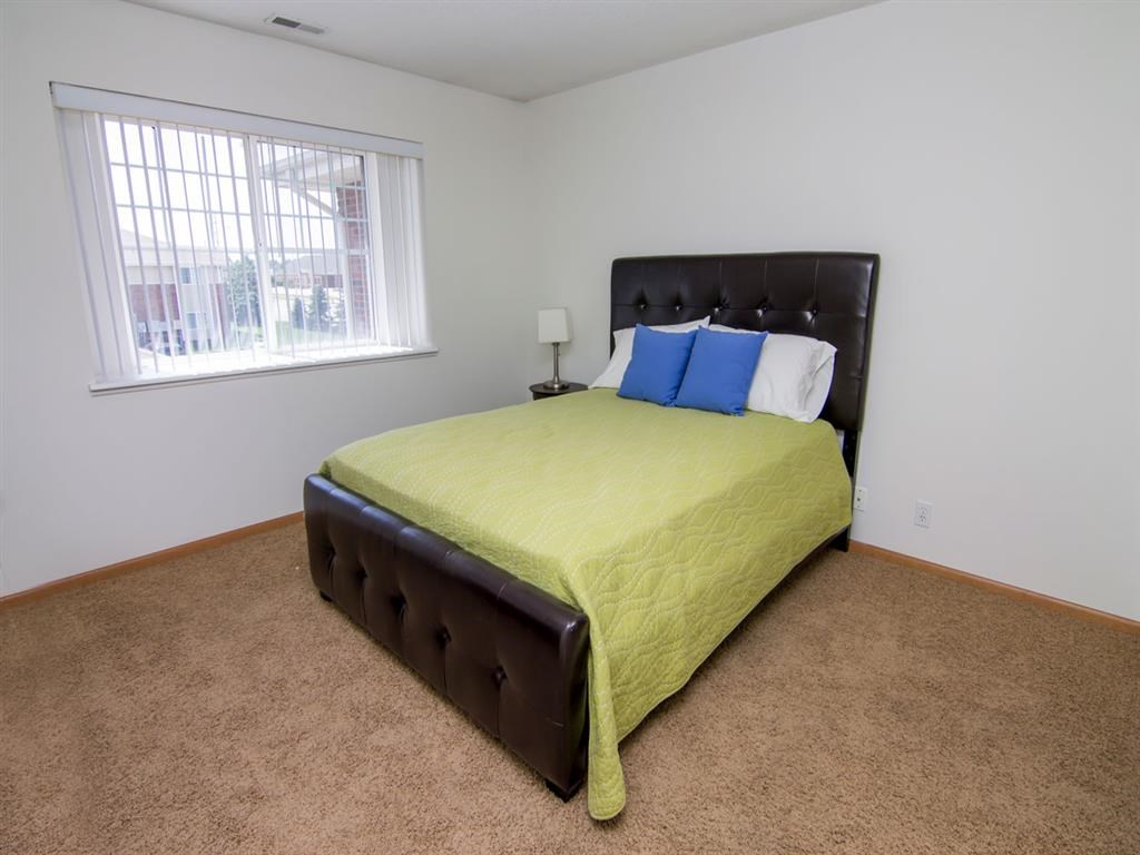 Interiors-Bedroom in The Northbrook Apartments in Lincoln NE
