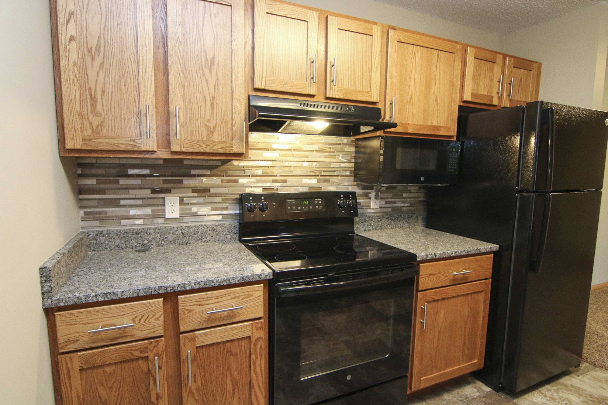 Interiors-The Northbrook renovated kitchen with granite