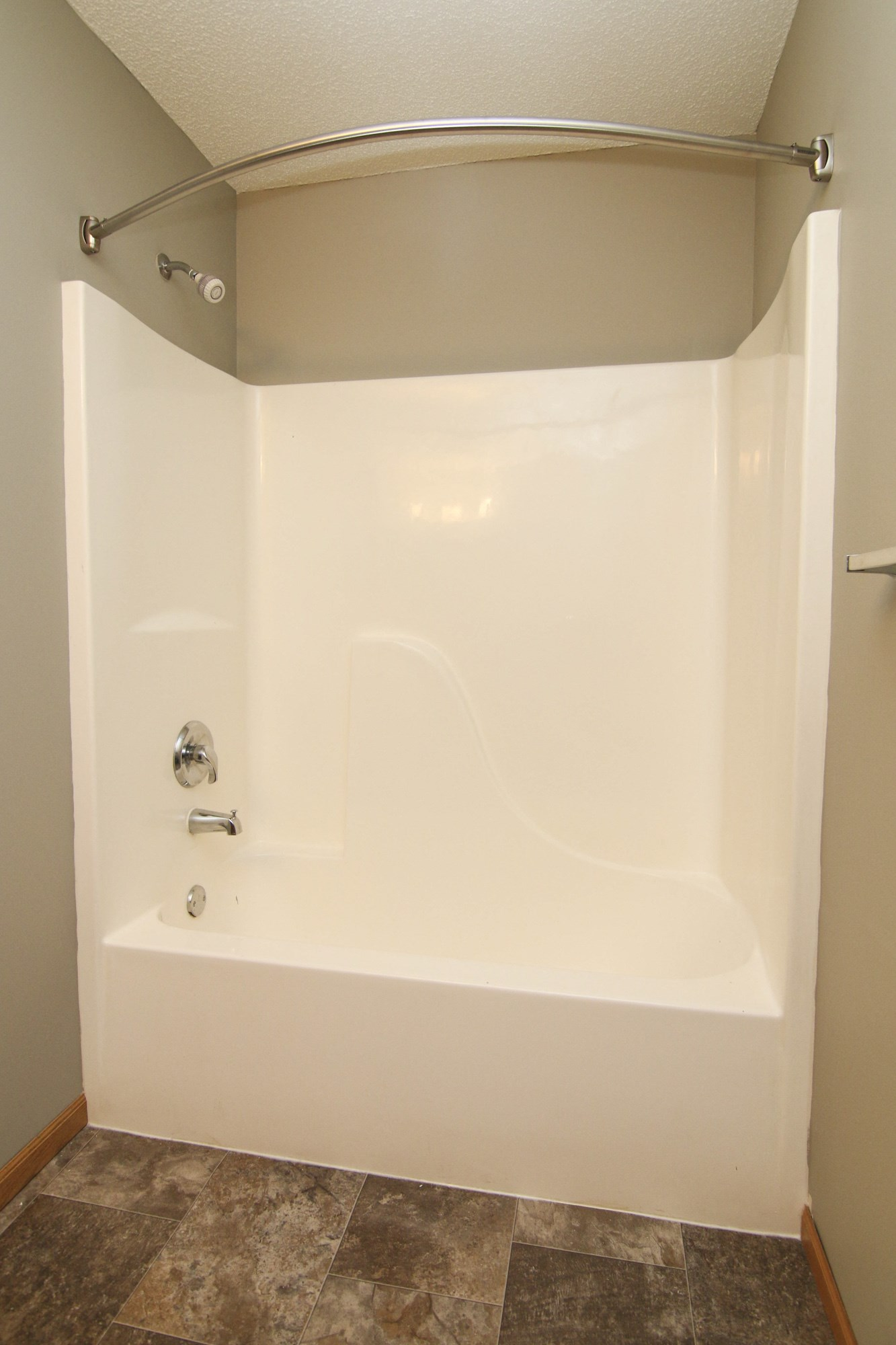 Interiors-Renovated bathroom at Northbrook Apartments
