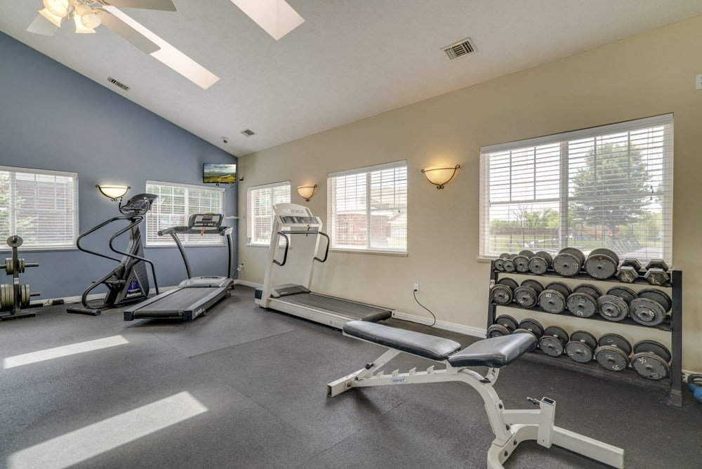 Fitness center at Northbrook Apartments!