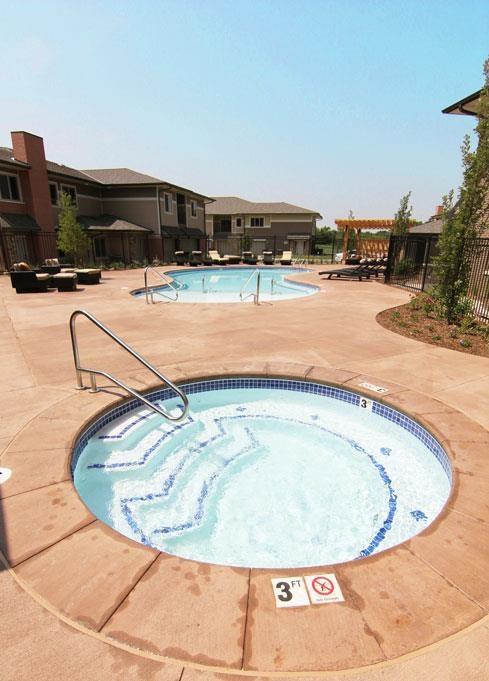 Exterior-The Villas at Wilderness Ridge Hot tub