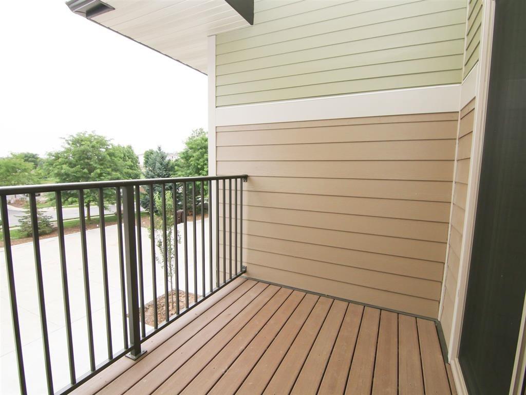 balcony at Villas at Wilderness Ridge in Lincoln Nebraska
