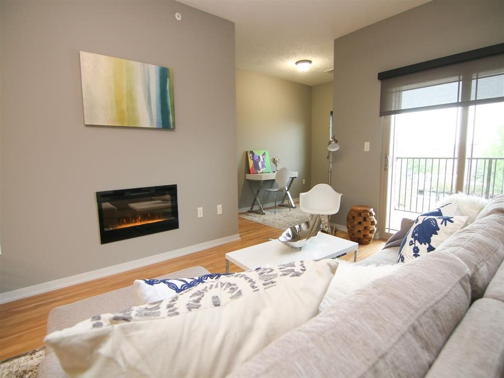 spacious bedroom at Villas at Wilderness Ridge in Lincoln Nebraska