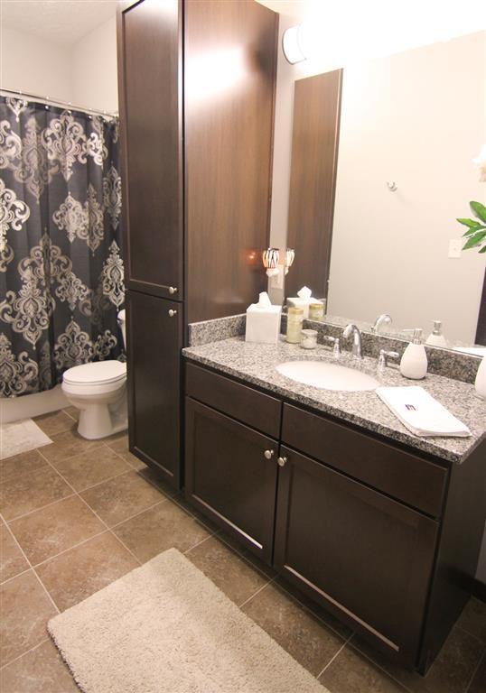 bathroom at Villas at Wilderness Ridge in Lincoln Nebraska
