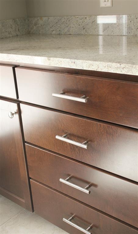 washroom drawers at Villas at Wilderness Ridge in Lincoln Nebraska