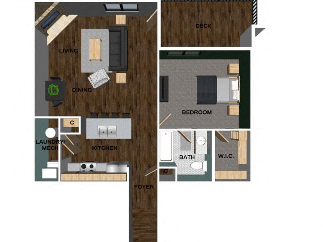 Floor Plans Of The Villas At Wilderness Ridge In Lincoln Ne
