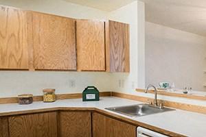 2 Bedroom - open concept kitchen