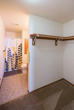2 Bedroom - Main bedroom has an en suite with walk in closet