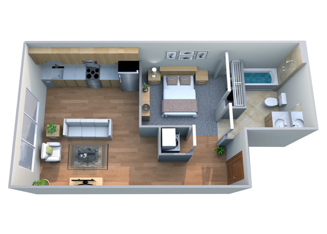 oA3 Floor Plan 11