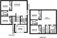 4-Bedroom Cottage Floor Plan 2