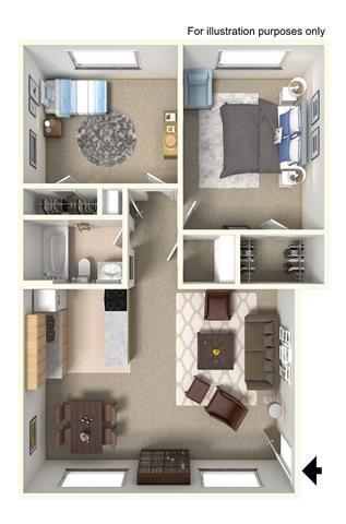 Hawthorne I Floor Plan 1