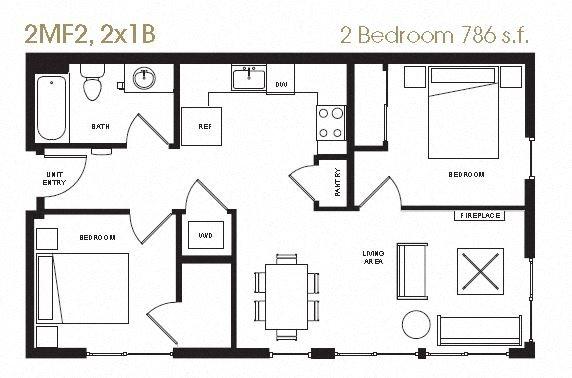 Floor Plans of Aperture on Fifth in Seattle WA – 820 Fifth Avenue Floor Plan